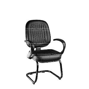 Cadeira Diretor Fixa com Braços Milão CB 303