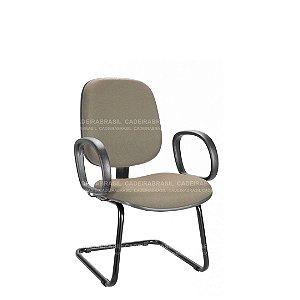 Cadeira Diretor Fixa com Braços Ravan CB 203