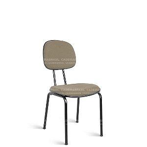 Cadeira Fixa Secretária 4 Pés Garfo Ravan CB 211