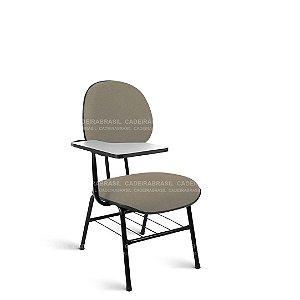 Cadeira Universitária Executiva 4 Pés Garfo com prancheta fixa Ravan CB 215
