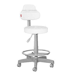 Cadeira Mocho Alto Estética, Fisioterapia, Odontologia Plus Premium Cadeira Brasil CB 1548