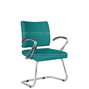 Cadeira Fixa Executiva com Braços Ideale Plus CB 3040