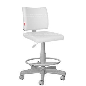 Cadeira Caixa Alta Executiva Base Aço Capa Ideale Premium CB 3033