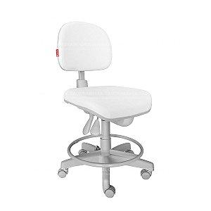Cadeira Mocho Ergonômico Prime com Aro CB 1505