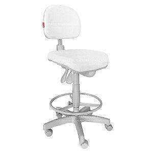 Cadeira Mocho Alto Ergonômico com Aro Prime CB 1507
