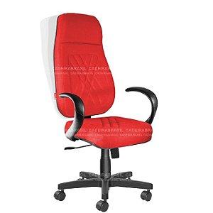 Cadeira Presidente Extra Giratória Senna CB 427 Cadeira Brasil