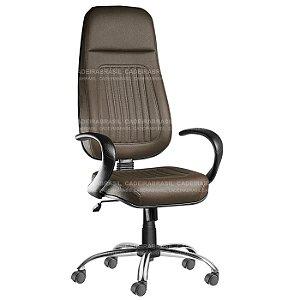 Cadeira Presidente Extra Giratória Milão Plus CB 350 Cadeira Brasil