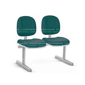 Longarina 2 Lugares Executiva Gomada Concert Premium CB 662 Cadeira Brasil