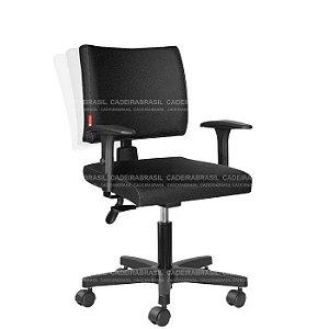 Cadeira Ergonômica Ideale CB 3016 Braços Reguláveis Cadeira Brasil