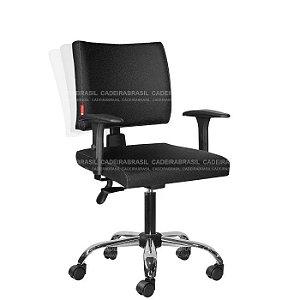 Cadeira Ergonômica Ideale CB 3018 Plus Braços Reguláveis Cadeira Brasil