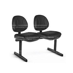 Longarina 2 Lugares Executiva Operativa CB 192 Cadeira Brasil