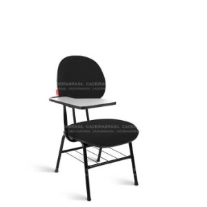 Cadeira Universitária Executiva Ravan CB 215 Prancheta Fixa Cadeira Brasil