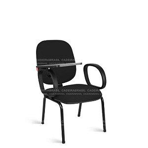 Cadeira Universitária Diretor Ravan CB 217 Prancheta Escamoteável Cadeira Brasil
