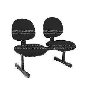Longarina 2 Lugares Executiva Ravan CB 292 Cadeira Brasil