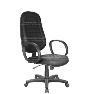 Cadeira Presidente Giratória Ravan Plus CB 251 Cadeira Brasil