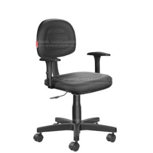 Cadeira Escritório Secretária Ravan Plus CB 130H Cadeira Brasil