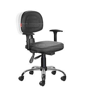Cadeira Ergonômica Secretária Ravan Plus CB 130D Cadeira Brasil