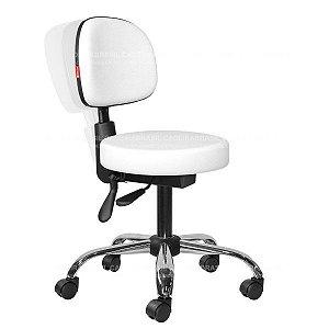 Cadeira Mocho Estética, Fisioterapia, Odontologia Secretária Ergonômico Cadeira Brasil CB 1624