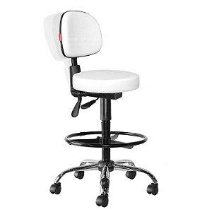 Cadeira Mocho Alto Estética, Fisioterapia, Odontologia Secretária Ergonômico Cadeira Brasil CB 1636