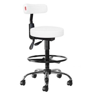 Cadeira Mocho Alto Estética, Fisioterapia, Odontologia Slim Ergonômico Cadeira Brasil CB 1546