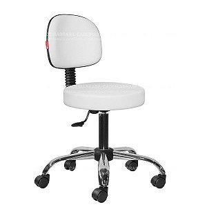 Cadeira Mocho Estética, Fisioterapia, Odontologia Secretária Cadeira Brasil CB 1622
