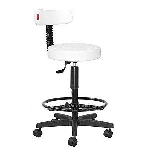 Cadeira Mocho Alto Estética, Fisioterapia, Odontologia Slim Cadeira Brasil CB 1542