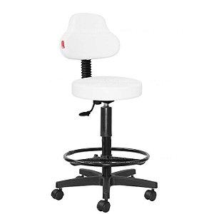 Cadeira Mocho Alto Estética, Fisioterapia, Odontologia Plus Cadeira Brasil CB 1586