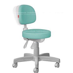 Cadeira Mocho Estética, Fisioterapia, Odontologia Secretária Premium Ergonômico Cadeira Brasil CB 1553