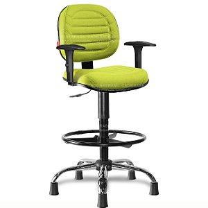 Cadeira Caixa Executiva Giratória Lacerta LCE57 Cadeira Brasil