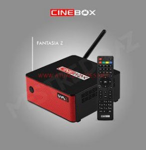 Receptor Cinebox Fantasia Z / Wi-Fi / IPTV IKS SKS - ACM - LANÇAMENTO