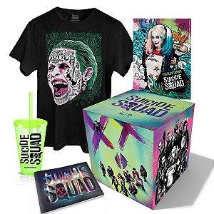 Box Esquadrão Suicida Joker Tshirt - TAMANHO M