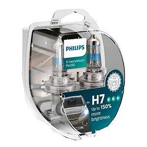 PAR LAMPADAS H7 XTREME VISION PRO150% PHILIPS