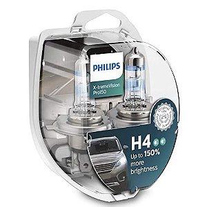 PAR LAMPADAS H4 XTREME VISION PRO150% PHILIPS
