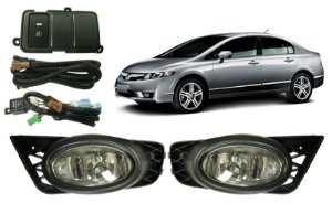 Kit Farol Auxiliar - NEW CIVIC
