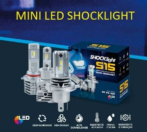 LANÇAMENTO - KIT MINI LED S15 -  SHOCKLIGHT