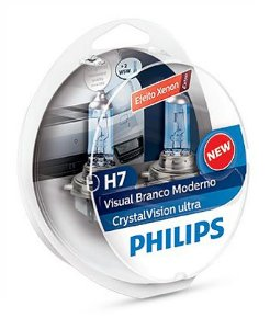 PAR  LAMPADA H7 CRYSTAL VISION ULTRA - PHILIPS
