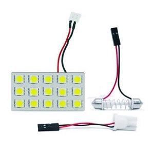 PLACA COM 15 LEDS 5050 BRANCO 12V WDC