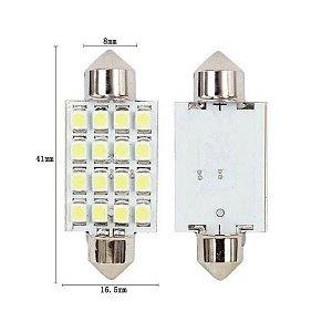 LAMPADA TORPEDO 16 LEDS 41MM 6K