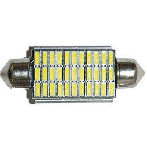 LAMPADA TORPEDO 41MM 33 LEDS CANBUS 6K