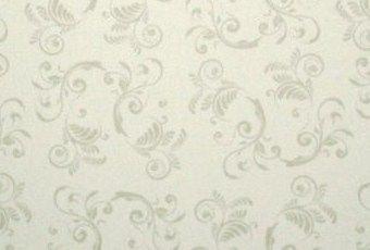Papel Floral Branco 180g/m² A4 pacote com 25 folhas
