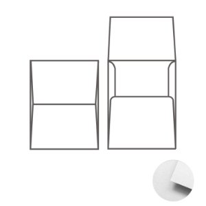 Envelope (REF 07 - 21,2 x 15,1 cm) Color Plus Branco