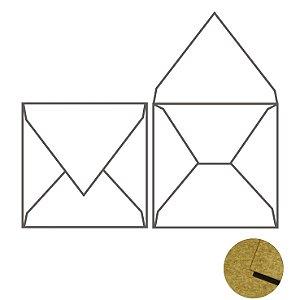 Envelope (REF 12 - 20,0 x 20,0 cm) Kraft