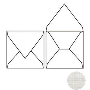 Envelope (REF 12 - 20,0 x 20,0 cm) Color Plus Tx Opalina Telado