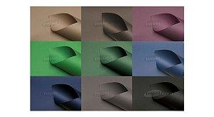 Papel Color Plus 180g/m² (9 cores escuras | 5 folhas A4 de cada)