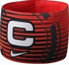 Faixa De Capitão Nike Capitão Armband Vermelho
