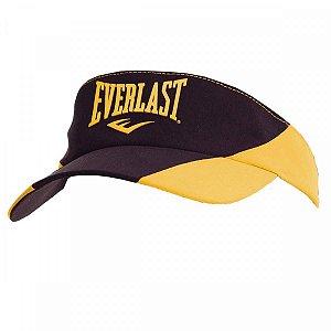 Viseira Everlast Multi Sport Unisex Preto Amarelo