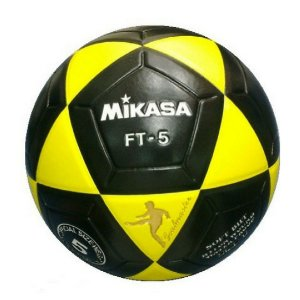 Bola De Futevôlei Mikasa Ft 5 - preto amarelo