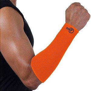 Protetor De Antebraço Para Voleibol Brac7 Curto Laranja