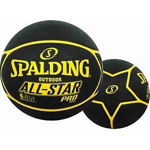 Bola Basquete Spalding NBA All Star Pro Amarelo