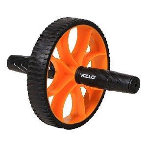 Roda de Exercício Vollo Com Pegadas Anatômicas